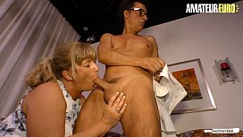 AMATEUR EURO - #Debby Fountain - Quicky Sex With Lawyer Before Husband Comes Home