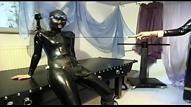 Lesbian whores in latex and high heels