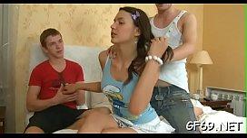 Teens love large ramrod porn