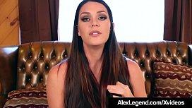 Brunette Alison Tyler Pussy Fucked By Alex Legend'_s Fat Cock
