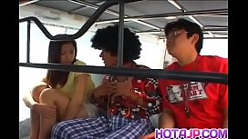 Ran Asakawa tries dick in the pussy while on the road - More at hotajp com