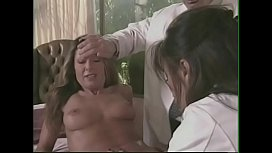 Charming beauty Alexandra Silk attends a medical examination with pretty doctor  Asia Carrera