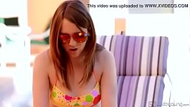 sweetcelina.com-- Hot teens licking each other