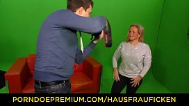 HAUSFRAU FICKEN - Amateur mature German housewife gets cum on tits in exciting hardcore fuck