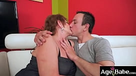 Sally decided to take a big juicy fuck from the young man