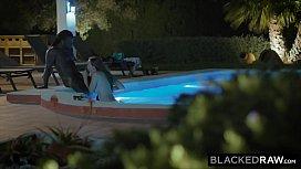 BLACKEDRAW Her husband fell a. early so she had some fun
