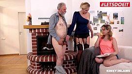 LETSDOEIT - My Stepdad Had Sex With Me And My MILF Stepmom (Klara &amp_ Mia Cruise)