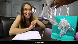 FILF - Latina Student Izzy Lush Gifts Her Pussy To Her English Tutor