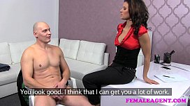 id 7774746: FemaleAgent Impressive cumshot all over beautiful agents big breasts