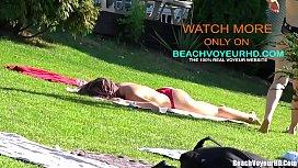 Big Ass latina Thong teens tanning in the sun