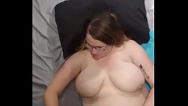 Bbw huge tit wife fucked and titty fucked compilation