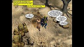 3D Comic: World of Neverquest 4