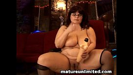 Never to old to masturbate....big tits