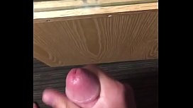 Guy cums 3 times in a row