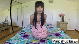 Marica has some fun at home with her camera
