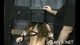 Woman endures enormous stimulation in wild dilettante fetish video