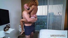 Ebony lewd bitch with juicy ass gets interracial fucked (Join Now! Da&zwnj_te&zwj_Me18.com)