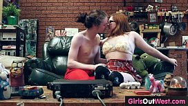Hairy curvy girlfriend fucked on the sofa
