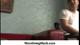 Milf Porn - Watching my mom going black in interracial sex 24