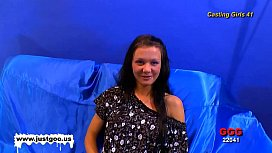 Casting girl Anna gets tested by Viktoria