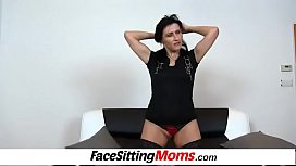 Dirty Euro cougar Marta first facesitting scene