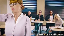 Brazzers - Big Tits at School -  The Substitute Slut scene starring Penny Pax and Jessy Jones