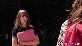Lisa Ann fucks teen couple Kimmy Granger and Jordi