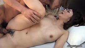 Hot milf, Runa Kanzaki cheated on her husband, once again