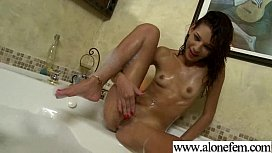 Amateur Teen Girl Masturbate With Dildo clip-21