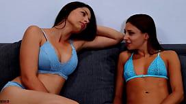 Hot Lesbians Wrestling Panty Domination Scissoring K.O Humiliation