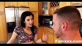 Sisters Tease and Fuck Step Brother| Famxxx.com