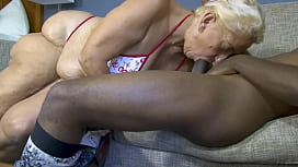 56y Wife BBW Wide Hips GILF Amber Conners Creampie
