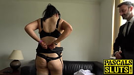 Busty plump mature lady dominated and pounded super hard