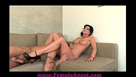 FemaleAgent Nymph stripper delights MILF