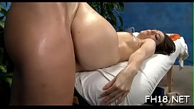 Marvelous all natural drilled by massage therapist