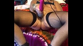 Spanking and vibrate