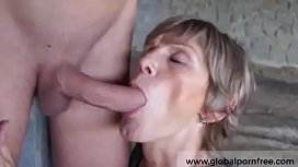 Horny tattooed grandma taped up her toyboy Globalpornfree.com