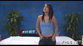 Gir gets an butt massage then bonks her therapist