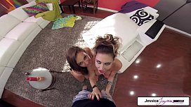 FirstClassPOV - Abigail Mac and Jessica Jaymes get fucked in many positions