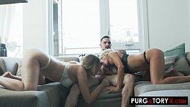 PURGATORYX A Blonde Gone Wild Part 3 with Misha & Vanessa