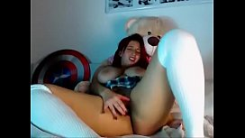 Latina Playing on CAM - LIVE NOW // webcamhooker.us