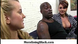 Mommy going black - Hard-core interracial super sex 19