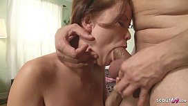Cute Girl Rough Fuck to Squirt and Eye Rolling Orgasm