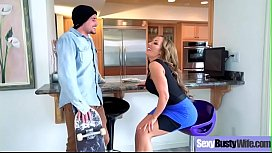 Hardcore Sex Action With Big Round Boobs Housewife (Richelle Ryan) clip-18 clip1