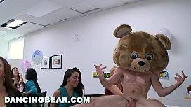 DANCING BEAR - Room Full Of Dick Suckers At A Wild And Crazy CFNM Party
