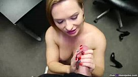 ov40-Horny step-mom handjob