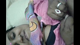 lalitha shows her pussy and boobs with pink saree