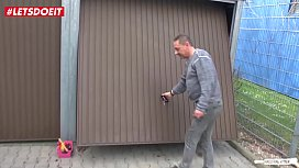 LETSDOEIT - Chubby German Wife Fucks the Handyman