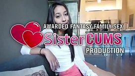Jasmine Summers Rides Big Brother Cock - SisterCUMS.com