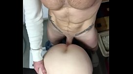 Milf fucked on the table